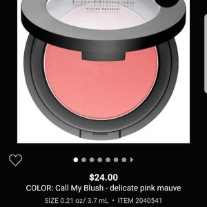 Bare minerals gen nude blush Call my blush